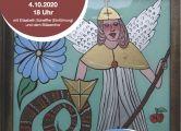 Einladungsplakat Engelausstellung in Bardowick