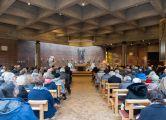 ökumenischer Gottesdienst in St. Stephanus mit der Verabschiedung von Christian Kindel.