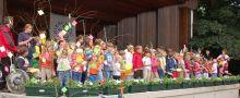 Kinder am Pfingstmontagsgottesdienst