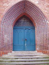 Eingang zur St. Johannis-Kirche in Lüneburg