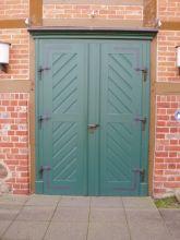 Tür zur Hippolitkirche in Amelinghausen