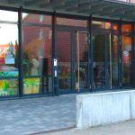 Eingangsbereich Gemeindezentrum der Friedenskirche Wichernstrasse 32 Lüneburg, Evangelisch Freikirchliche Gemeinde