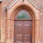 Portal der Pella-Kirche in Amelinghausen