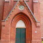 Eingang zur St. Laurentius-Kirche in Lüneburg