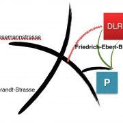 Lageplan DLRG-Heim