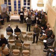 Passionsandacht mit dem Rat der Stadt Lüneburg im Heinrich-Heine-Haus