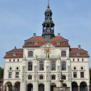 Rathaus Lüneburg; gegenüber dem Heinrich-Heine-Haus