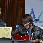 "musikalische Begleitung: ""Dom Acoustic Combo"", Ev. Luth. Kirchengemeinde Bardowick, Pascal und Malte"