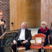 Abschiedsworte von Pastor Stolze ev.luth. St. Stephanusgemeinde.