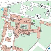 Kloster Lüne Lageplan