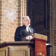 Nicolaikirche Reformationsgottesdienst, Predigt Pastor Oldenburg, Foto Pastor Hinrichs