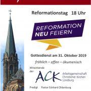 zentraler Reformationsgottesdienst St. Nicolai Lüneburg 2019